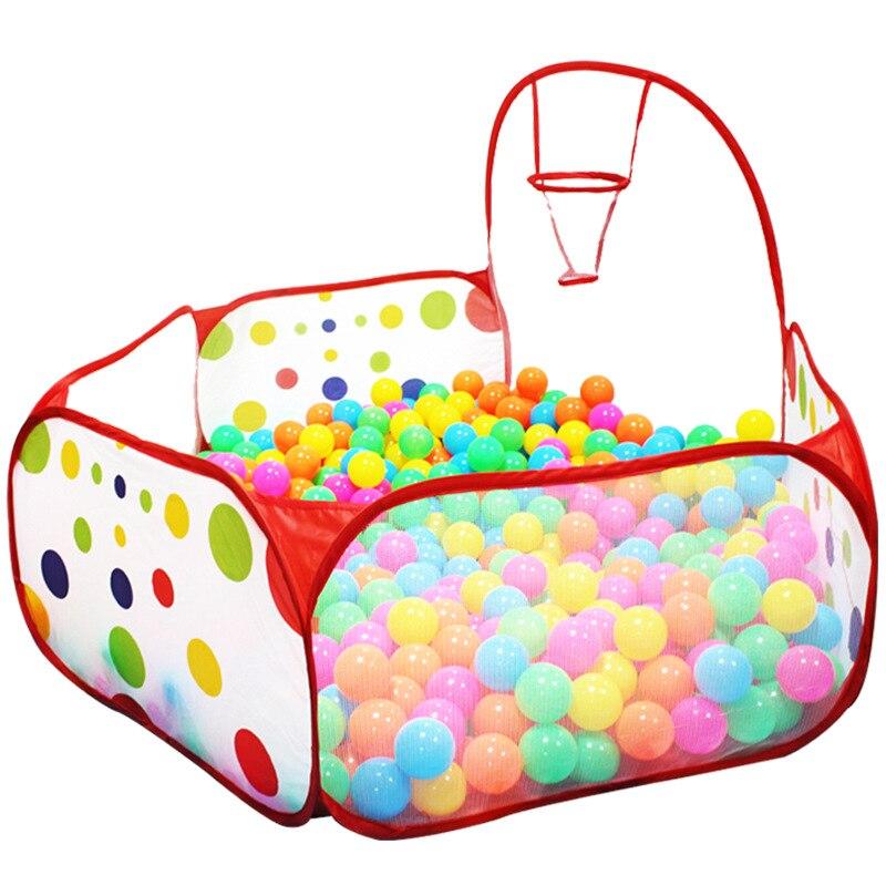 1 Mt 1,2 Mt 1,5 Mt Laufstall Für Baby Kinder Ozean Ball Pool Indoor Spielzelt Kinder Sicher Polka Dot Hexagon Laufstall Tragbare Faltbare Elegant Im Stil