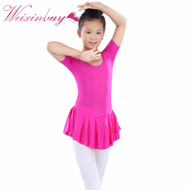 19f696ece Tutu de balé profissional KidBallet Tutu Leotard vestidos Roupas de  Ginástica Dança Vestido Da Menina Da