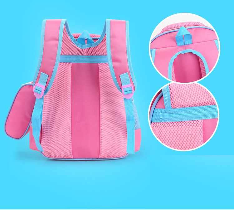 Nylon waterproof children cartoon kitty cat backpack kids school bag  mochila infantil escolar bolsa bolso for teenager girls-in School Bags from  Luggage ... 0e1fa88e76d18