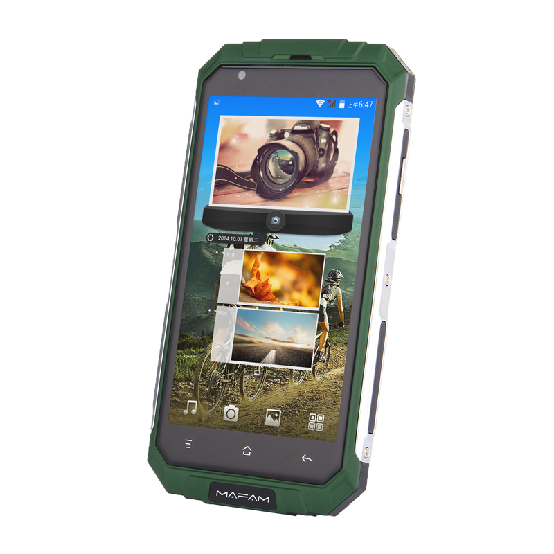 "Image 3 - land V9+ plus Quad Core MTK6580 Android 5.0 512MB RAM 8GB ROM 2G 3G wcdma GPS 5.0"" Screen A GPS slim outdoor rugged Smart Phone-in Cellphones from Cellphones & Telecommunications"