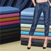 Customized 145cm Width Tencel Denim Cowboy Chiffon Silk Satin Cotton Gauze Cloth Fabric Shirt Coat Skirt