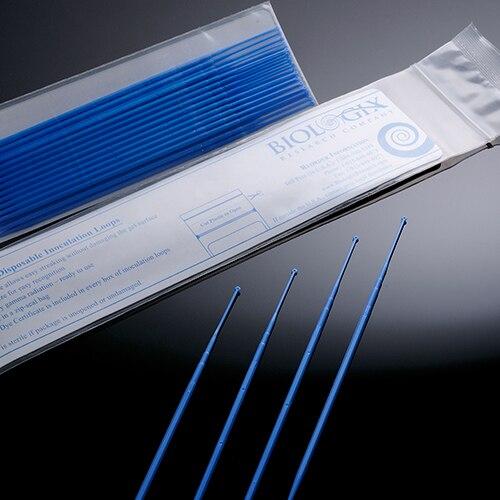 20 Pieces Lab Disposables Plastic 1ul Inoculating Loops