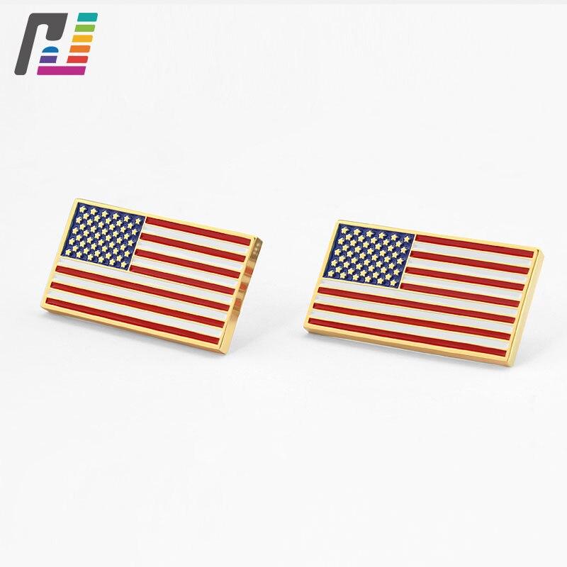 Custom Countries Logo Soft Enamel Badge Lapel Pin American Flag Pins Flag Brooch Buy at Least 50PCS