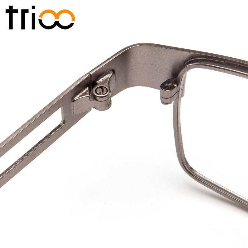 Männlich c2 c4 Hohe c3 Qualität Trioo Männer Minus Metall Transparent Brillen Platz C1 Für Progressive Kurzsichtig Optische pBTq1w