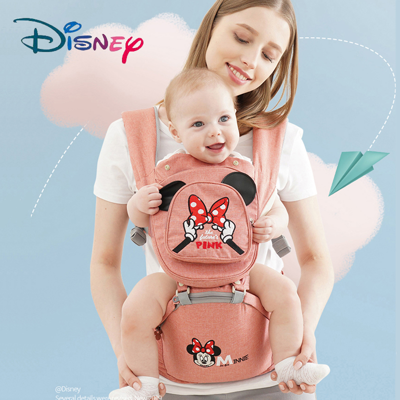 Disney Breathable Multifunctional Front Facing Baby Carrier Infant Baby Sling Backpack Pouch Wrap Disney Accessories Pre-design