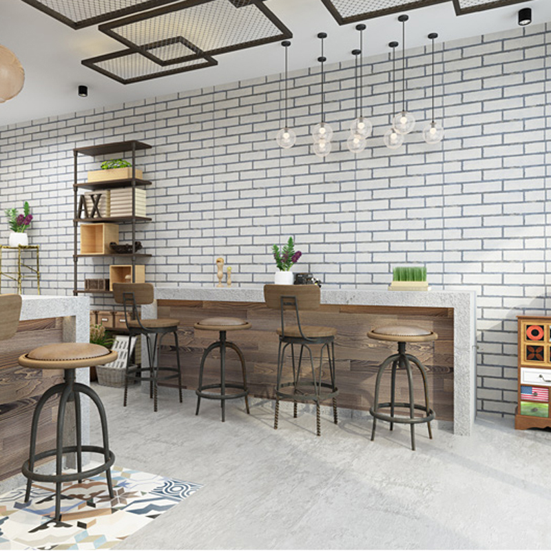 Vintage Brick Pattern 3D Wallpaper Wholesale PVC papel de pared Mural Wallpapers Roll Wall Paper for walls home decor LY073 custom 3d stereoscopic mural monroe marilyn head papel de pared european style wall paper roll restaurant place of entertainment
