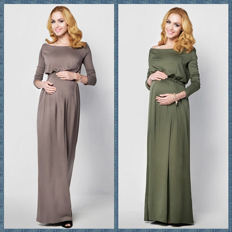 2017 new maternity photography props Dress Fancy shooting ...
