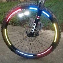 2020 novo e quente 32 * bicicleta refletor ciclismo diy fita reflexiva roda raios luzes para equitação segurança à noite frete grátis
