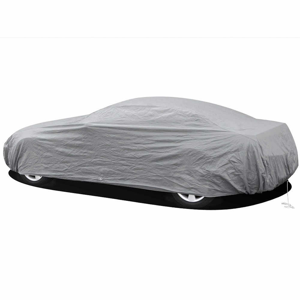 Single-layer car clothing sunscreen dustproof waterproof full car cover sunscreen anti-UV snow and rain protection new