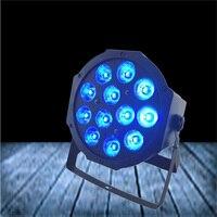 1PCS/LOT New Product 12pcs led par can rgbw outdoor flat par led waterproof 12x12w rgbw stage lighting