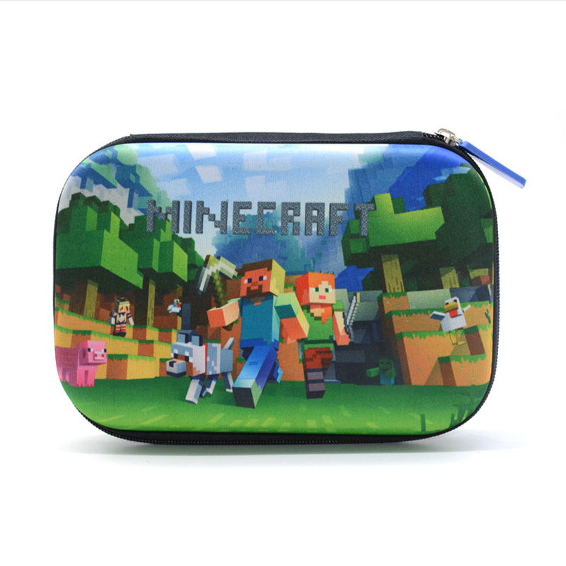 Novelty Multifunction Minecraft Pencil Case School Pencil Pen Bag Kawaii My World Pencilcase Office Supplies Cute Stationery 2017 minecraft my world pencil case bag for boys girls school stationery gift kawaii game pencilcase pen box school supplies