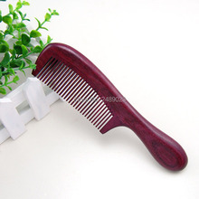 Para Novio Moda Regalo Sanos Peinetas Purpleheart Madera Cepillo de Carbono Peluquería Profesional Peluquería Peine Barba