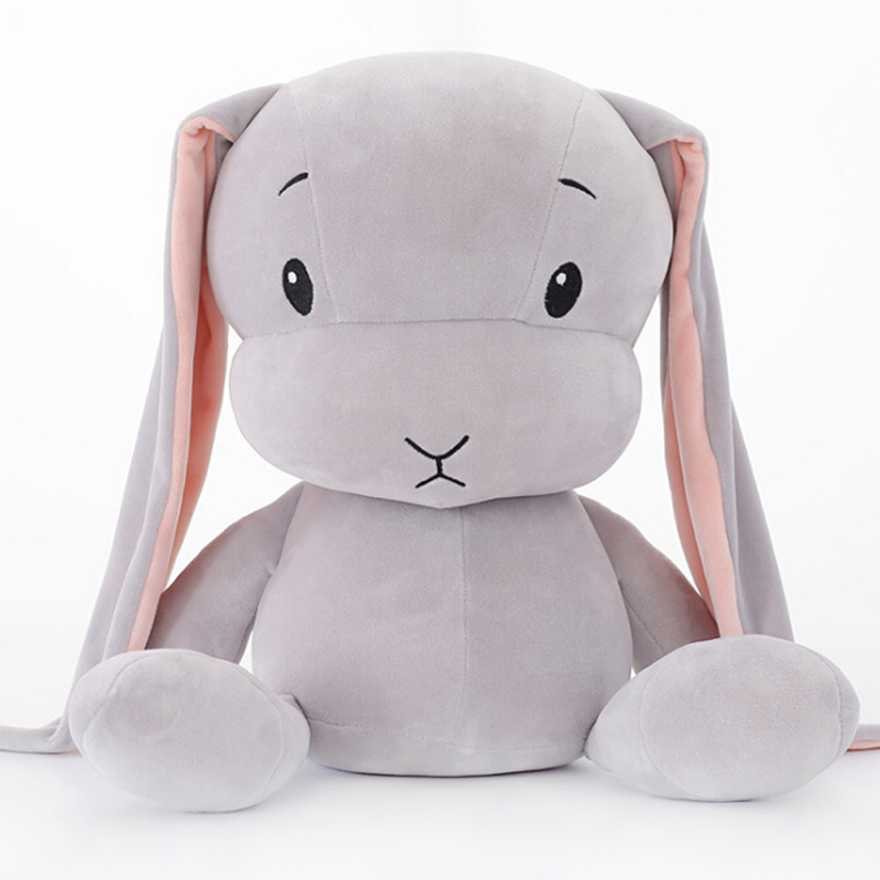 25cm Cute Rabbit Plush Toy Stuffed Soft Rabbit Doll Baby Kids Toys Animal Toy Birthday Christmas Gift B0915