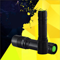 CREE XM-L T6 3800Lumens cree led Torch Telescopic Zoomable Adjustable Strong Light Flashlight For 1x18650 or 3xAAA Battery