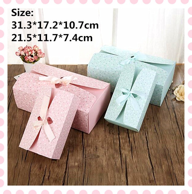 Small Floral Pakcaging Kraft Boxes For Underwear Scarves Towels T Shirts