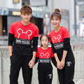 Casual Family Clothing Cartoon Tops Mother/Mom and Daughter Clothes Father and Son Clothing Family Style Matching Clothes TT47
