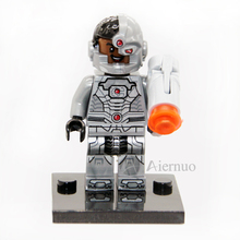 No.174 Cyborg Individual minifigure super hero compatible With Legao single sell