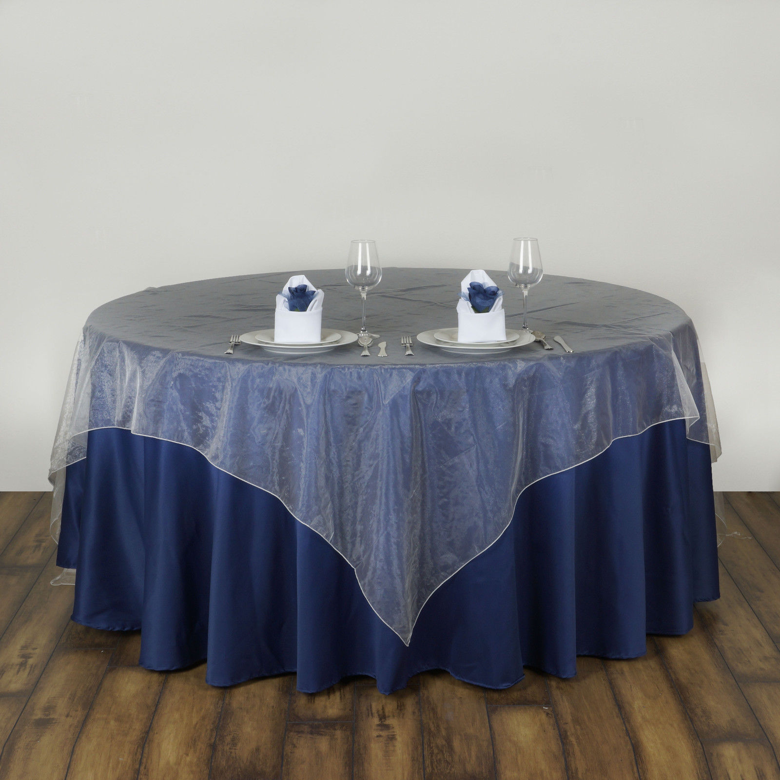 Wedding Table Cover Organza Fabric Square Table Cloth For Wedding Banquet  Party Table Decorations Home Textile