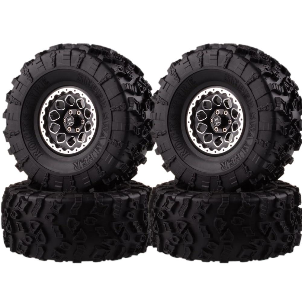 "4P 2.2/"" Super Swamper Rocks Tyre 128MM 3033 For R//C 1//10 Climbing Rock Crawler"