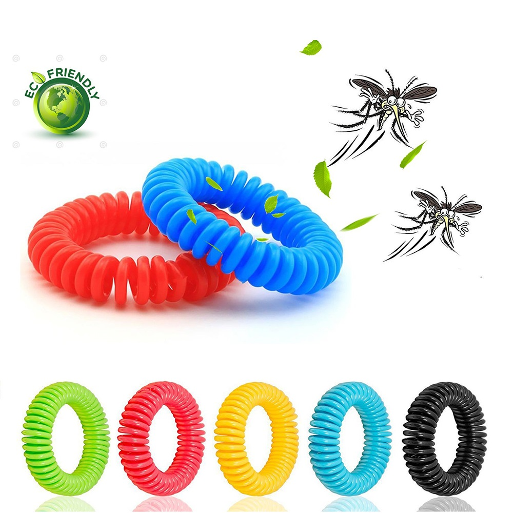 5PCS/Lot Mosquito Repellent Bracelets Anti Mosquito Insect Repellent Wrist Hair Band Bracelet for Outdoor Camping/Traveling5PCS/Lot Mosquito Repellent Bracelets Anti Mosquito Insect Repellent Wrist Hair Band Bracelet for Outdoor Camping/Traveling