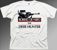 The Deer Hunter Robert De Niro film movie white cotton t shirt 9934 free shipping cheap tee Fashion Style Men Tee 2019 hot tees