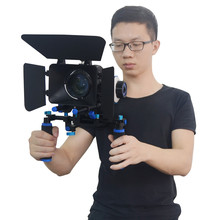Mcoplus Professional DSLR Rig Shoulder Video Camera Stabilizer Support Follow Focus For Canon Nikon Sony Camera Camcorder