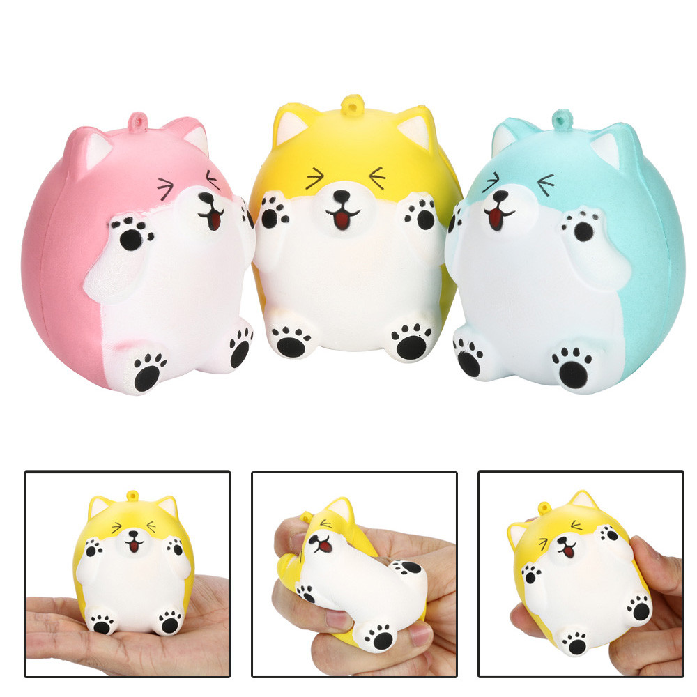 Toys & Hobbies The Cheapest Price Furry Cats Squeeze Squishies Adorable Cat Slow Rising Cream Squeeze Scented Stress Relief Toys Squishes Stress Relief Toy Always Buy Good