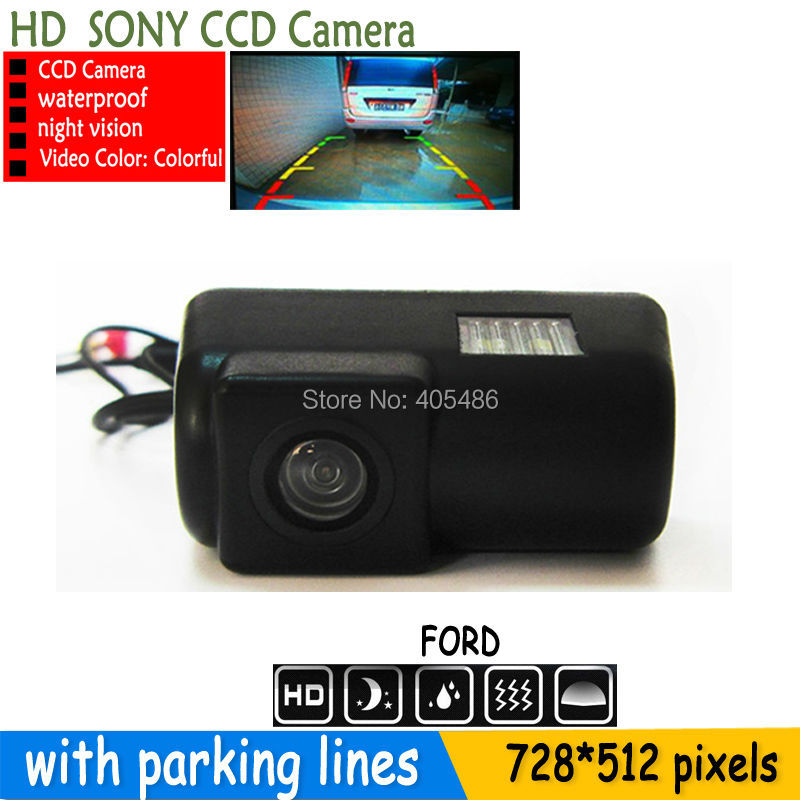 170 parking rear view camera HD SONY CCD camera Backup reverse vehicle with parking lines for
