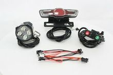Electric Bicycle 24V 36V 48V 60V Universal Headlight Tail Rear Lights LED include Bake Light