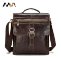 MVA Casual Men Bag Genuine Leather Handbags Men's Briefcase Handbag Crossbody Bags Men Messenger Bags Men's Leather Shoulder Bag