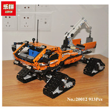 New 913pcs Lepin 20012 Technic Series Mechanical Group The Polar Adventure Vehicle Building Blocks Bricks Set