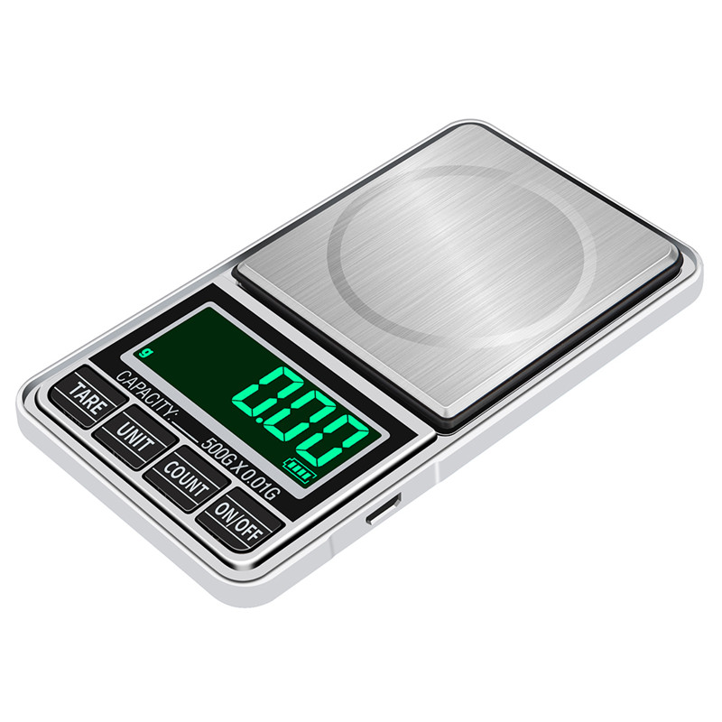 200g/300g/500g/1000g 0.01g Mini Digital Scales Pocket Jewelry Scales Precision Electronic Balance Weight Balanca Digital Scale(China)