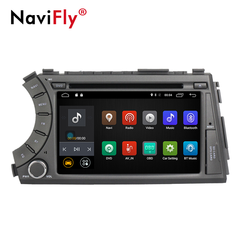 4G SIM LTE Android 8.1 Quad Core car dvd gps player for ssangyong Kyron Actyon with Wifi BT radio 2GB RAM 1024*600 screen RDS