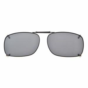 Image 2 - C75 Eyekepper Grey/Brown/G15 Lens 3 pack Clip on Polarized Sunglasses 51x36MM