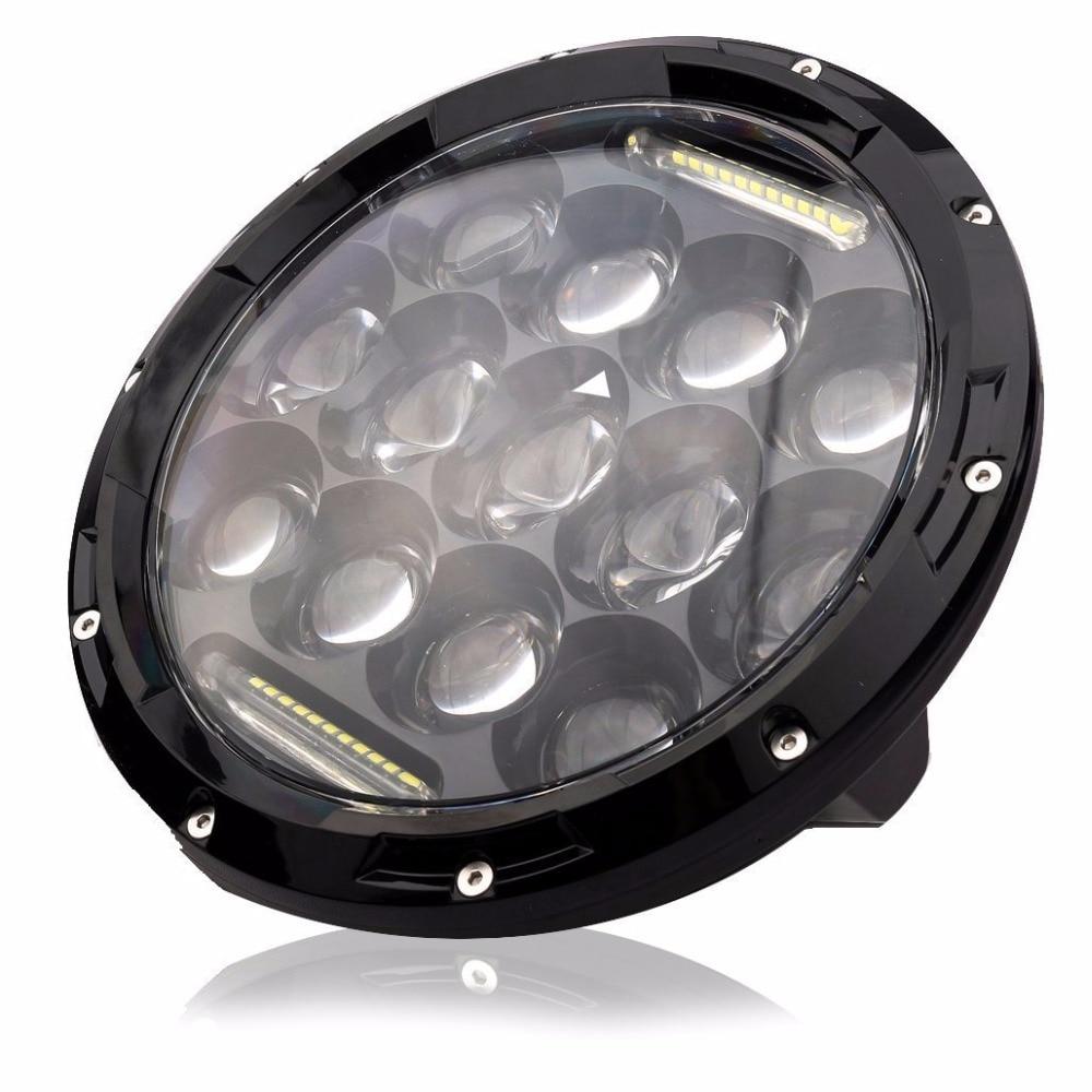 On sale ! One piece round 7inch 7 ' 75w led headlight for wrangler TJ LJ JK, CJ-7, CJ-8 Scrambler