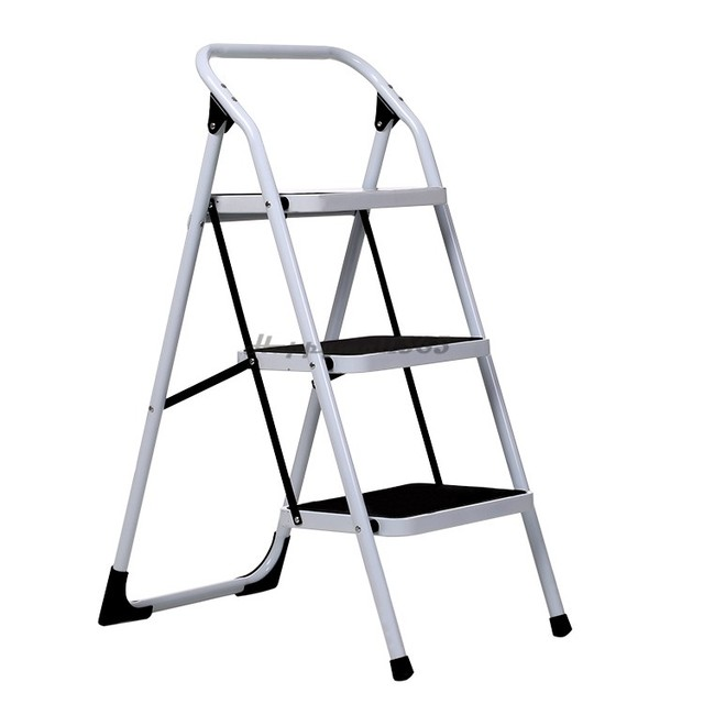 Us Shipping 3 Step Ladder Multifunctional Folding Household Platform Thickening Stair Chair 25