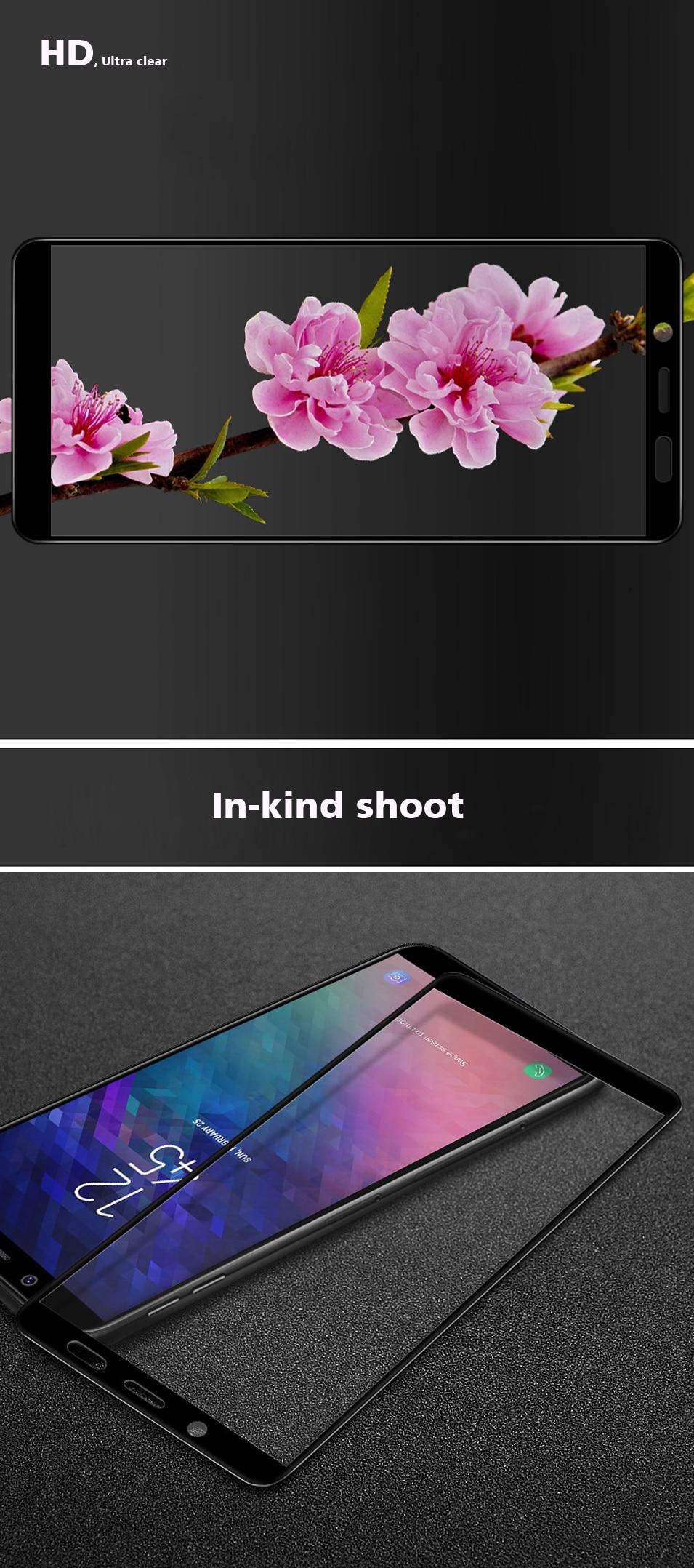 Full Cover Screen Tempered Glass for Samsung Galaxy J3 J4 J6 J7 J8 2018 J530 2017 Eurasian version Glass Screen Protector Film (7)