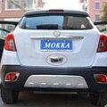 2013 2014 2015 Opel/Vauxhall Mokka ABS Chrome Trunk Maçaneta Da Porta tigela Porta Traseira Porta Traseira Garra Guarnição Tampa Do Carro Styling acessórios