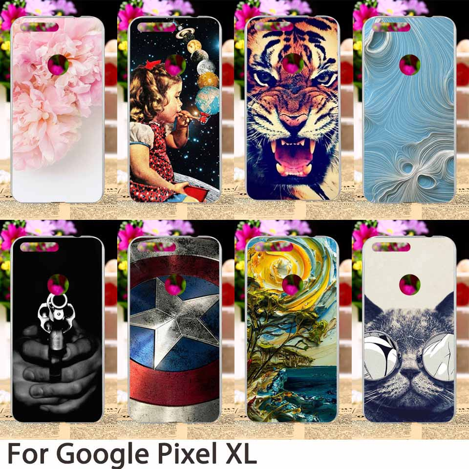 Smartphone Case For HTC Nexus Marlin Google Pixel XL Google Nexus M1 5.5 Inch Back Cover Colorful Hard Skin Sheath Bag