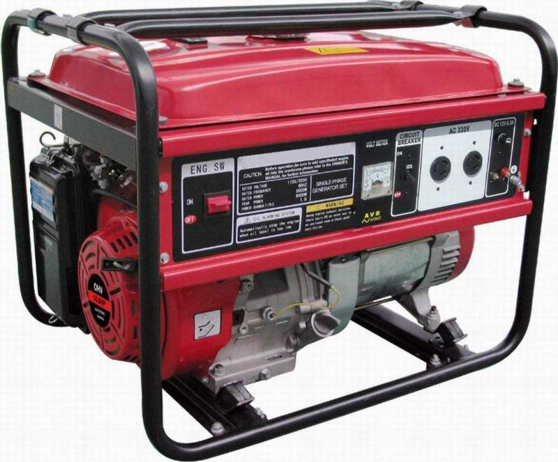 Sea shipping avr for generator 6500 Recoil starting 5kW 5.5kW  6kVA 188F GX390 13hp 4 stroke CE EPA CIQ SASO SONCAP kraft dele kw 6500