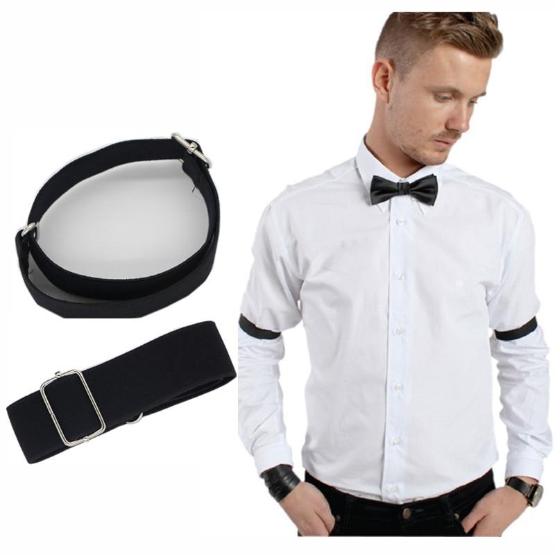 Fashion Man Shirt Sleeve Holder Adjustable Armband