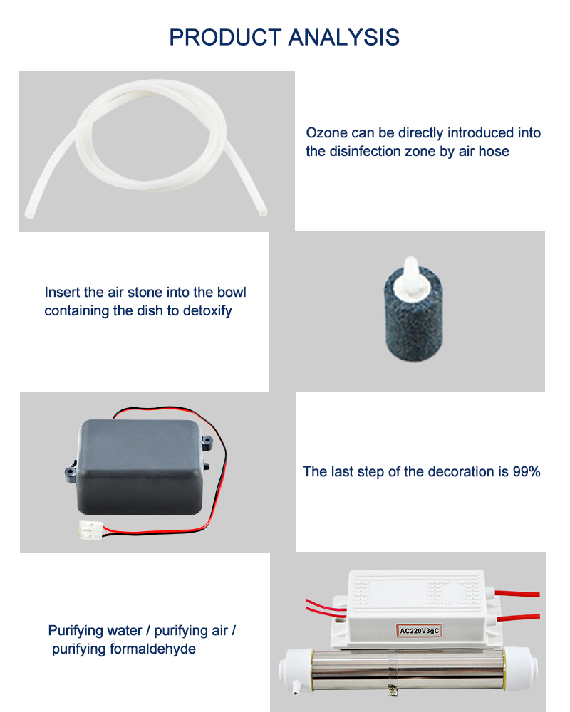 Diy Kit Ozone Generator 3000mg H 220v Ozonizer Electronic Water Circuit For Pool 2