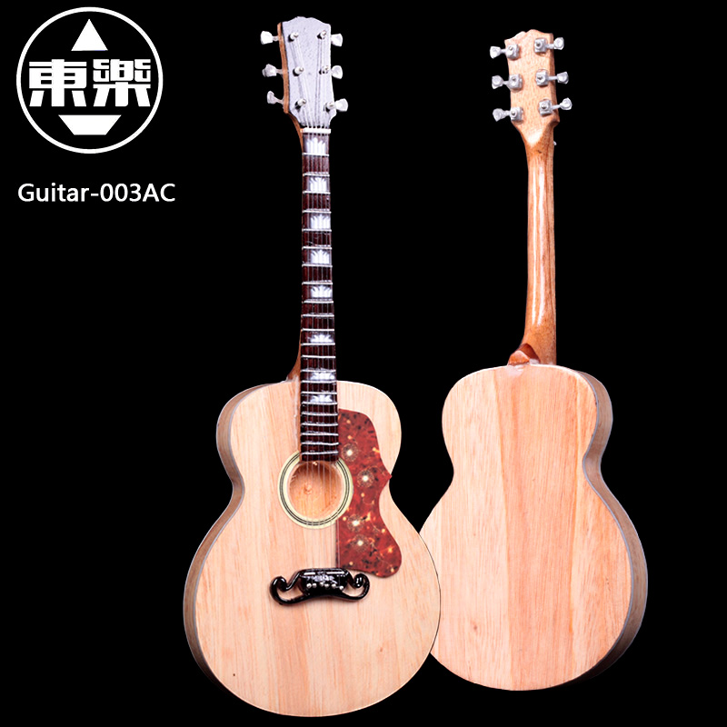 Wooden Handcrafted Miniature Guitar Model guitar-003AC Guitar Display with Case and Stand (Not Actual Guitar! for Display Only!) wooden handcrafted miniature guitar model guitar 087 guitar display with case and stand not actual guitar for display only