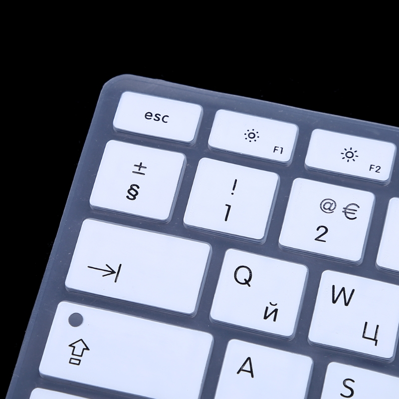 EU/US Version Russian Keyboard Silicone Skin <font><b>Cover</b></font> For <font><b>Apple</b></font> <font><b>Macbook</b></font> Air <font><b>Pro</b></font> 13 <font><b>15</b></font> image