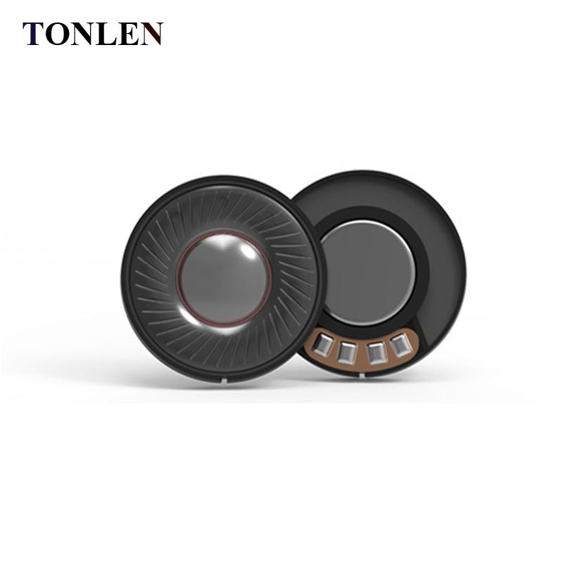 40mm speaker headset diy white magnetic 32ohms Disassembled unit from headphones