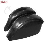 7 стиль черный седельная сумка сума электронная защелка для индийского вождя Roadmaster 15 18 темный конь Спрингфилд мотоцикл