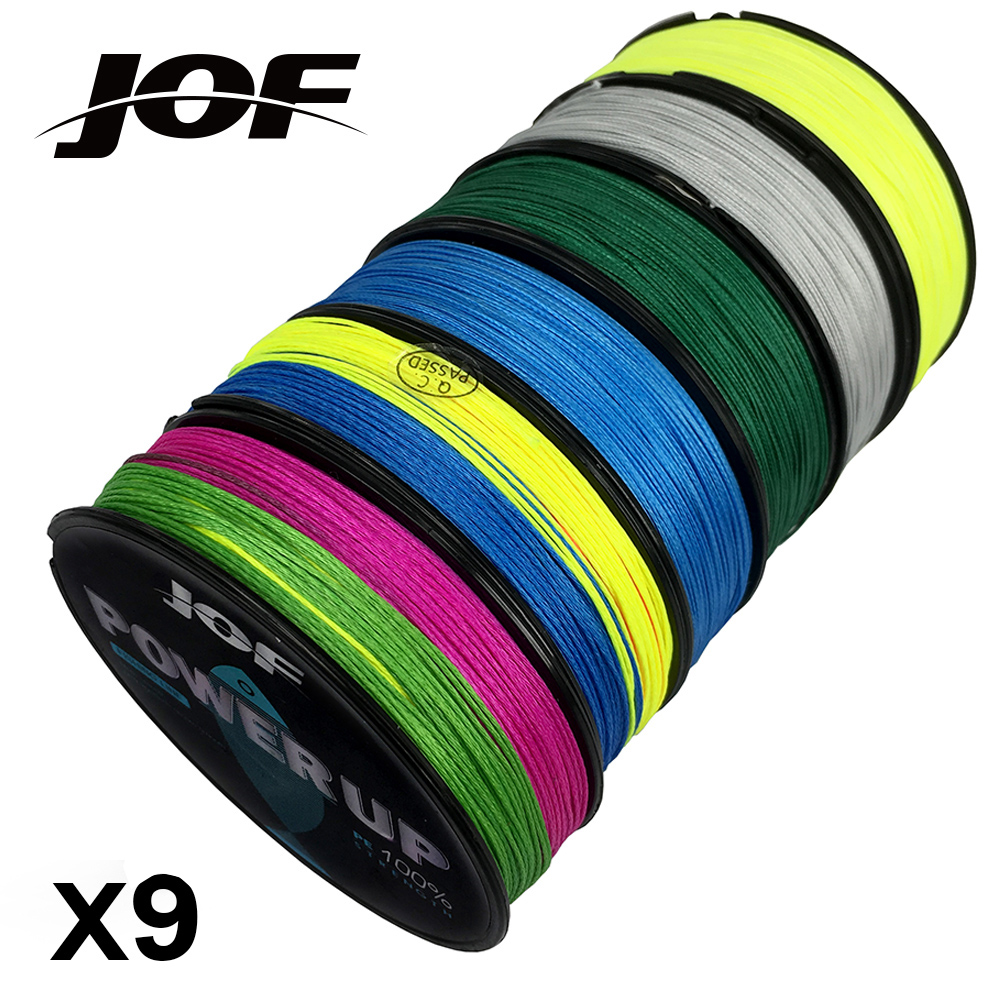 150M JOF 9 Strands Series Super Strong PE Braided Fishing Line