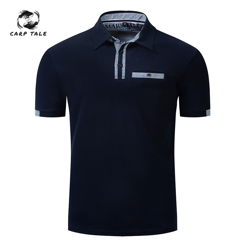 Men's   Polo   high quality casual brand 2019 men's fashion   Polo   shirt men's collar summer clothing shirt cotton shirt business