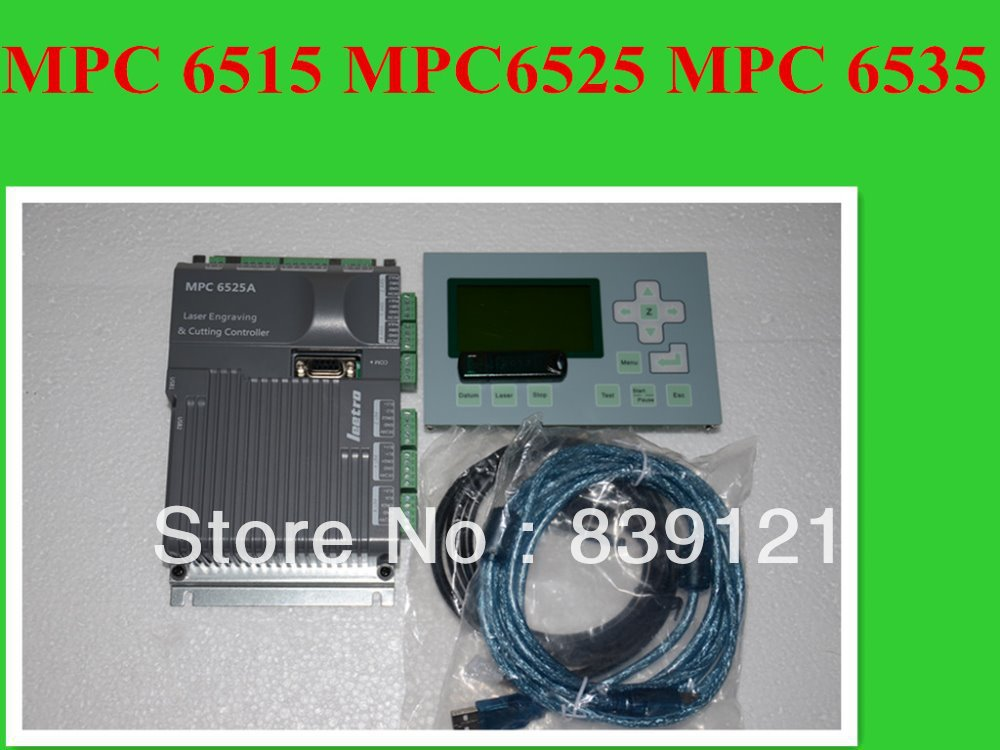 CNC machine control system MPC6525 CO2 Laser Machine Control System