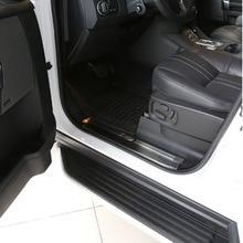 Нержавеющаясталь внутри порогов пластин чехол накладка для Land Rover Discovery 4 2010-2016 автомобильные аксессуары